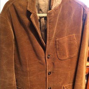 Men's Caramel colored corduroy sport coat